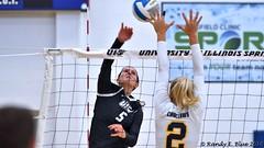 Miss. College 090217 039 (REBlue) Tags: universityofillinoisspringfield uis missssippicollege volleyball glvc trac