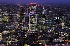 London Nightscape XLIII (Douguerreotype) Tags: london uk dark british buildings cityscape lights architecture city bank britain night gb urban england