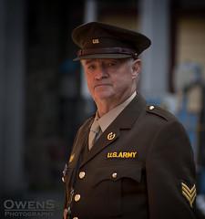 US Army 1 (OwenSPhotography) Tags: war time wartime ww2 1940 1940s bury lancashire 2018 elr reenactment reenactments reenacting actors dress dressed soilder soilders army