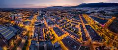 El Ejido, Almería, panorámica desde Torrelaguna (dleiva) Tags: el ejido almeria almería andalucia provincia de vista pajaro skyline spain sunset blue hour dleiva domingo leiva pano panorama panoramic light sky