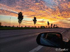 Sunrise from the road 2018 Vll! Back to work. (Edale614) Tags: sunrise sunsetsaroundtheworld wanderlust aroundtheworld naturelovers nature lakescape landscapephotography fromtheroad columbus ohio sunshine explore sky skyporn