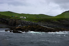 Boat journey to Mykines (Gregor  Samsa) Tags: north deep nort deepnorth faroe faroes faroeislands summer june july hike hiking walk walking journey trip exploration island islands wild wilderness outdoors atlantic scenic scenery nature path footpath trail mykines