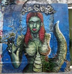 Street art #4, Getsemaní, Cartagena, Colombia, July 2017 (Judith B. Gandy (on and off, off and on)) Tags: art streets wall cartagena cities colombia getsemaní graffiti publicart streetart wallart