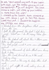 automatic writing project #2 pg84 (ms. neaux neaux) Tags: dawnarsenaux automaticwritingproject2 freewrite communityjournal realpeople writing words letters text handwriting