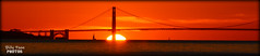 Golden Gate Bridge Sunset (billypoonphotos) Tags: golden gate bridge nikon d5200 nikkor mm san francisco photo picture orange sky billypoon billypoonphotos bay area albany berkeley california photography photographer sun camera shot fields pretty beautiful sunset water sea boat ocean 55200mm 55200 sanfrancisco goldengatebridge