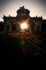 La Puerta de Alcalá, Madrid (JC Padial) Tags: madrid spain monument afternoon tarde sun sol