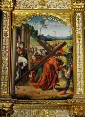 Astorga (León-España). Catedral. Retablo Hispanoflamenco, 1530. Maestro de Astorga. Camino del Calvario (santi abella) Tags: astorga león castillayleón españa catedraldeastorga retablos