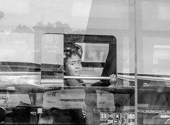 Mudik (A. Yousuf Kurniawan) Tags: mudik children kid kidworld bus streetphotography urbanlife blackandwhite monochrome decisivemoment eye gaze indonesia borneo kalimantan palangkaraya
