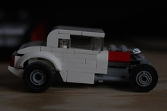snow white (josiah wadley (undercoverwookiee)) Tags: lego hot rod car race drag rat photography