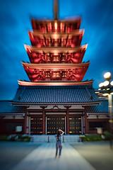 Japanese Tower (Akira.Tagawa_JPN)) Tags: asakusa akira tagawa tower japan tokyo アキラ タガワ lensbaby lens baby sweet sweet35