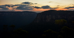 Blue Mountains at sunset (Miradortigre) Tags: nsw australia landscape mountains nature sunset