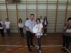Wręczenie nagród i dyplomów za sukcesy w konkursach naszej podstawówki