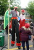 Stilt walkers on Italian Day (D70) Tags: sunday june 10 2018 12pm 8pm italian day drive vibrant cultural street festival celebrating culture heritage community participants comprised partners merchants vendors organizations estimated 200000 attendees cultures commercial home little italy designated location annual where transformed lively 14 block stilt walkers sony dscrx100m5 ƒ40 88mm 1250 400 fiesta