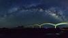 三仙台八拱橋~弓形銀河全景~ Sansiantai(Terrace of the three Immortals)Milky way panorama (Shang-fu Dai) Tags: 台灣 taiwan formosa 台東 taitung 成功鎮 三仙台 sansiantai terraceofthethreeimmortals 銀河 milkyway nikon d800e afs1635mmf4 landscape 天空 galaxy 戶外