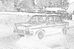 SIMCA 1000 Special 1973 B&W drawing (2060) (Le Photiste) Tags: clay sociéteindustrielledemécaniqueetdecarrosserieautomobilesimcananterrefrance 1973 simca1000special frenchautomobile drawing bw bwart simplybw borgerthenetherlands thenetherlands artwork artisticimpressions artofimages artandsoul artforfun artyimpression creativeimpuls creativeart 67av93 sidecode3 oddvehicle oddtransport afeastformyeyes aphotographersview autofocus alltypesoftransport blinkagain beautifulcapture bestpeople'schoice bloodsweatandgear gearheads greatphotographers cazadoresdeimágenes carscarscars canonflickraward digifotopro damncoolphotographers digitalcreations django'smaster friendsforever finegold fandevoitures fairplay hairygitselite ineffable infinitexposure iqimagequality interesting lovelyflickr livingwithmultiplesclerosisms mastersofcreativephotography niceasitgets photographers prophoto photographicworld planetearthbackintheday photomix soe simplysuperb slowride saariysqualitypictures showcaseimages simplythebest thebestshot thepitstopshop themachines transportofallkinds theredgroup thelooklevel1red yourbestoftoday wow simplybecause wheelsanythingthatrolls vividstriking