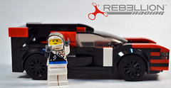 Rebellion Racing R13 (OpenBagTwo) Tags: lego car moc speed champions lemans prototype lmp lmp1 rebellionracing rebellion r13 oreca