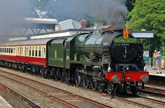 BR - 46100 Royal Scot (dgh2222) Tags: royal scot class 46100 steam locomotive 1z31 wellington shropshire uk railways