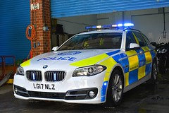 LG17 NLZ (S11 AUN) Tags: police scotland bmw 530d 5series estate touring traffic car drpu divisional roads policing unit anpr rpu 999 emergency vehicle cdivision lg17nlz