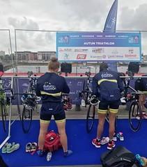 TEAM CLAVERIA Ana Mariblanca #Grandprix #Francia #Dunkerque equipo francés @AutunTriathlon 1