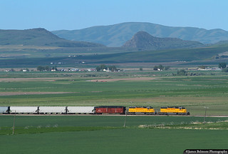 Cache Valley and the Bear River Gorge