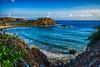 Worth the Walk (tquist24) Tags: atlanticocean hdr nikon nikond5300 outdoor stthomas usvirginislands virginislands beach clouds geotagged island nature ocean rocks sea seascape sky tropical water