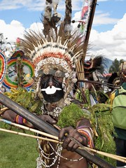 Portrait / Goroka show (michel David photography) Tags: portrait goroka show tribe papua newguinéa