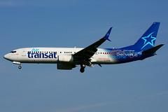 C-GTQF (Air Transat) (Steelhead 2010) Tags: airtransat boeing b737 b737800 yyz creg cgtqf