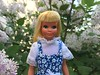 Skipper (Foxy Belle) Tags: malibu skipper doll best buy flowers outside barbie sister tan suntan