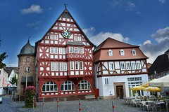 A romantic place (Tobi_2008) Tags: stadt town fachwerk kirchhain hessen deutschland germany allemagne germania