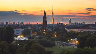 View over the Görlitzer Park