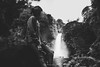 Fuente de soda (.KiLTRo.) Tags: life river stream flow landscape panguipulli regióndelosríos chile cl kiltro huilohuilo nature water waterfall longexposure bw blackandwhite people forest