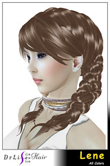 DrLifeGen3Hair Lene (DrLifeGen3Hair SecondLife) Tags: secondlife sl drlifegen3hair drlifegen3 drlife hair flexi slhairstyle