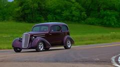 Virgil's 35 (Tim @ Photovisions) Tags: road kansas rod car auto carshow hotrod sedan