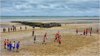D-day beaches, Arromanches today ... ( 3 )