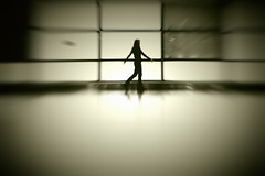 Concourse (Thomas Hawk) Tags: boston bostonairport loganinternationalairport massachusetts usa unitedstates unitedstatesofamerica airport bw dmuboston dmuboston102010 dmuboston2010 mrsth silhouette fav10 fav25 fav50 fav100