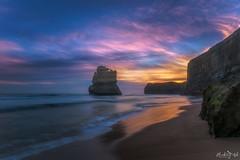 Imaginings DSC_6380 (BlueberryAsh) Tags: 2018 ccc warrnambool gibson steps gibsonsteps greatoceanrd cliffs rocks ocean seascape water seas australia australianseascape longexposure sunset cloudsstormssunsetssunrises reflection nikond750 nikon24120
