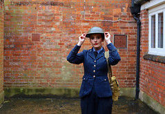 'Emily M' (AndrewPaul_@Oxford) Tags: emilym emily 1940s environmental portrait bletchley park wartime codebreakers enigma wraf womens royal air force