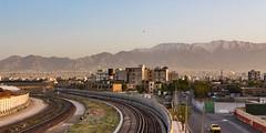 Tehran Skyline 003 (A.S. Kevin N.V.M.M. Chung) Tags: iran skyline horizon tehran mountain alborz tower landscape