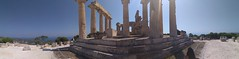 AfaiaTemple Panorama at Aegina (SpirosK photography) Tags: panorama stitch widepano temple ancientgreek ancient ruins archaeology archaelogical archaeologicalspace travel travelling travellog