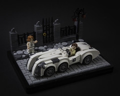 Captain Nemo's car (LegoFjotten) Tags: lego league extraordinary gentlemen captain nemo steampunk retrofuturism jules verne alan moore speed champions scale