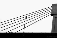 Life in Black and White (Galib Emon) Tags: geometric lines sky architecture lifeinblackandwhite composition streetlight outdoor travel life monochrome bangladesh blackandwhite geometriccomposition street chittagong galibemon minimalism urbanlandscape flickr explore canoneos7d minimalist bw bridge