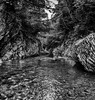 Devil's gate (rsvatox) Tags: trees landscape russia travel nature water mountains blackandwhite monochrome forest