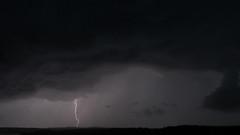 When Darkness Fell (WinRuWorld) Tags: lightning storm weather cloud sky nsw newsouthwales australia newcastle canon canonphotography stormcell outdoor hunterregion lowerhunter minimalism minimalist dark overcast leaden gloomy dim