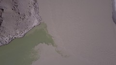 Aerial view of the Indus River and Zanskar River confluence. 📷 by Cali (kindred.ph) Tags: ladakh india travel jammukashmir kindredph leh indusriver zanskarriver river djimavic dji