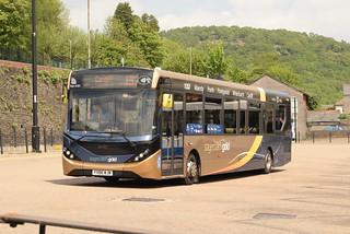 SW 26103 @ Pontypridd bus station