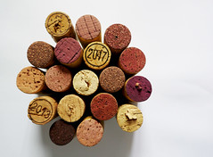 A companionship of corks (Monceau) Tags: cork corks winecorks odc circle macro round