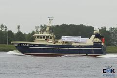 UK 642 'Berendina' (Romar Keijser) Tags: kotter visserij emk eendracht maakt kracht protest amsterdam dam aanlandplicht discard ban
