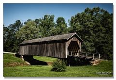 Auchumpkee Creek Covered Bridge (showtm490) Tags: johnbelknap 1635mmf4is 2018 5diii 5d3 beautiful canon coveredbridge creek ga georgia photography river thomaston water wheelchairphotographer