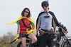 Wombombs (Sierra_Kline) Tags: batman robin costume guns motorcycle shotgun handgun cigar