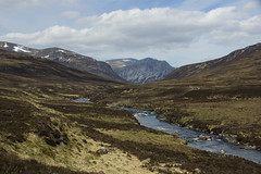 Does It Get More Scottish Than This? (steve_whitmarsh) Tags: aberdeenshire scottishhighlands scotland highlands braemar water river dee landscape mountains hills moor glen topic abigfave